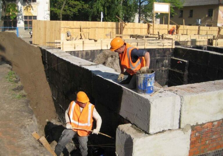 Гидроизоляция подземной части здания