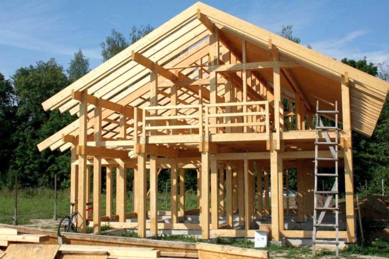 Каркасные деревянные дома – технология строительства