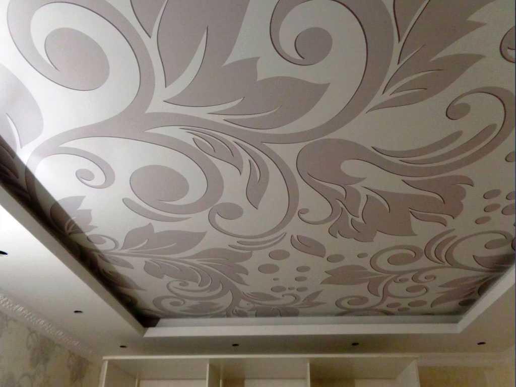 Тканевые бесшовные потолки